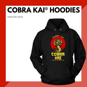 Cobra Kai Hoodies