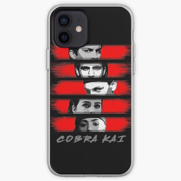 Cobra Kai Karate vs Miyagi-do iPhone Soft Case RB1006 product Offical Karl Jacobs Merch