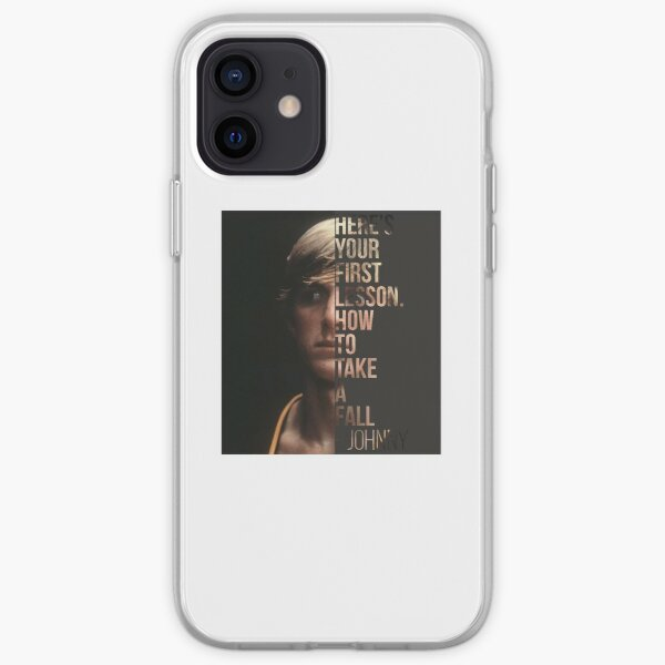 Johnny Lawrende Cobra Kai Johnny´s lesson iPhone Soft Case RB1006 product Offical Karl Jacobs Merch
