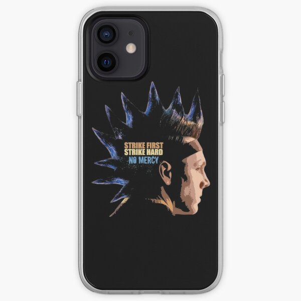Cobra Kai - The Hawk Strike first strike hard no mercy iPhone Soft Case RB1006 product Offical Karl Jacobs Merch