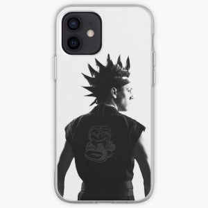 Hawk Cobra Kai in Black and White iPhone Soft Case RB1006 product Offical Karl Jacobs Merch