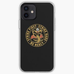 Cobra Kai 2 - (Dark t-shirt only) iPhone Soft Case RB1006 product Offical Karl Jacobs Merch
