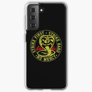 cobra kai fighting Samsung Galaxy Soft Case RB1006 product Offical Karl Jacobs Merch