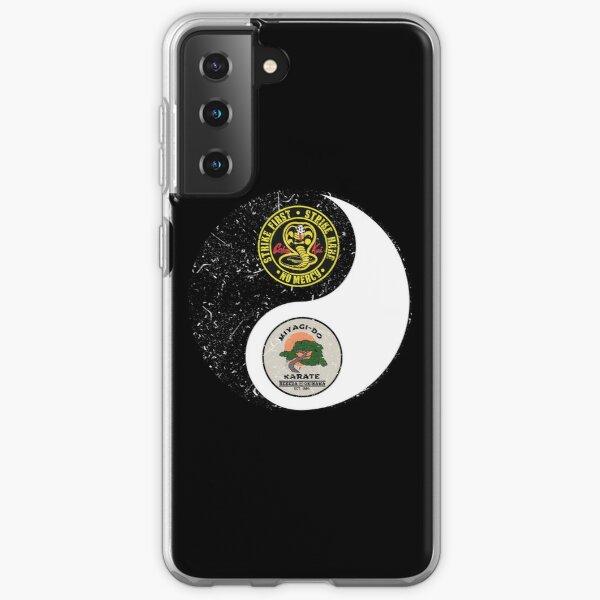 Cobra Kai vs Miyagi do - yin yang Samsung Galaxy Soft Case RB1006 product Offical Karl Jacobs Merch