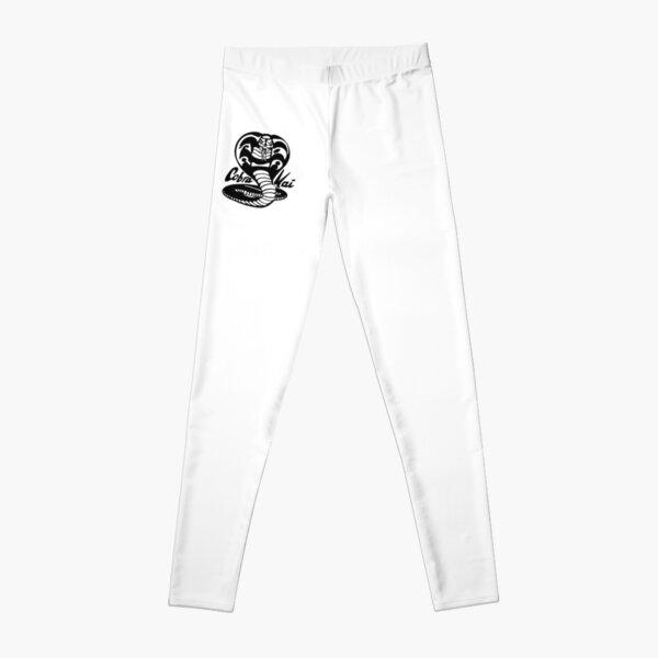 cobra kai black and white Leggings RB1006 product Offical Karl Jacobs Merch