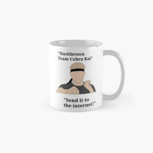 """""""Johnny Lawrence quotes from cobra kai """" Classic Mug RB1006 product Offical Karl Jacobs Merch"""