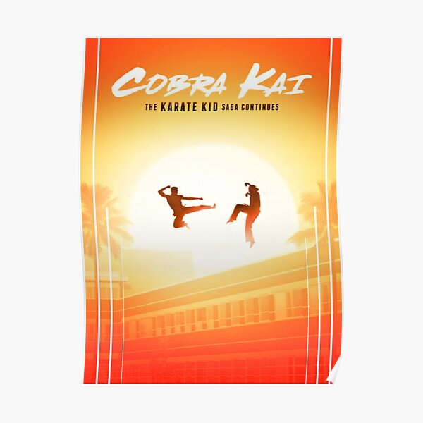Cobra Kai Poster Poster RB1006 product Offical Karl Jacobs Merch