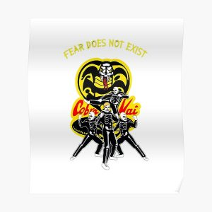Cobra Kai: fear does not exist Poster RB1006 product Offical Karl Jacobs Merch