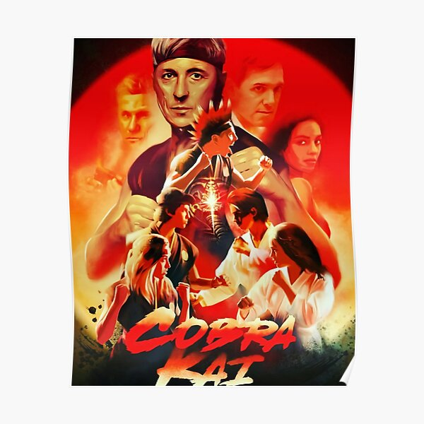 The Cobra Kai Poster RB1006 product Offical Karl Jacobs Merch
