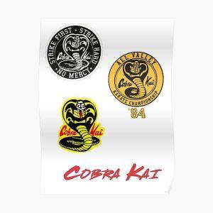 Cobra Kai sticker Pack Poster RB1006 product Offical Karl Jacobs Merch