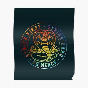 Cobra kai snake Poster RB1006 product Offical Karl Jacobs Merch
