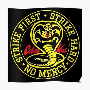 Karate Tournament - Cobra Kai Poster RB1006 product Offical Karl Jacobs Merch