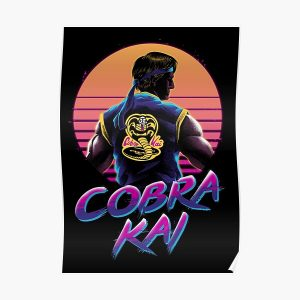 Rad Cobra kai Poster RB1006 product Offical Karl Jacobs Merch