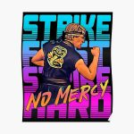 cobra kai 2020 - strike first strike hard no mercy Poster RB1006 product Offical Karl Jacobs Merch