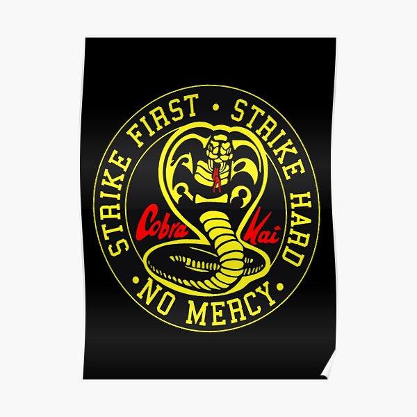 Cobra Kai Karate Tournament No Mercy Poster RB1006 product Offical Karl Jacobs Merch