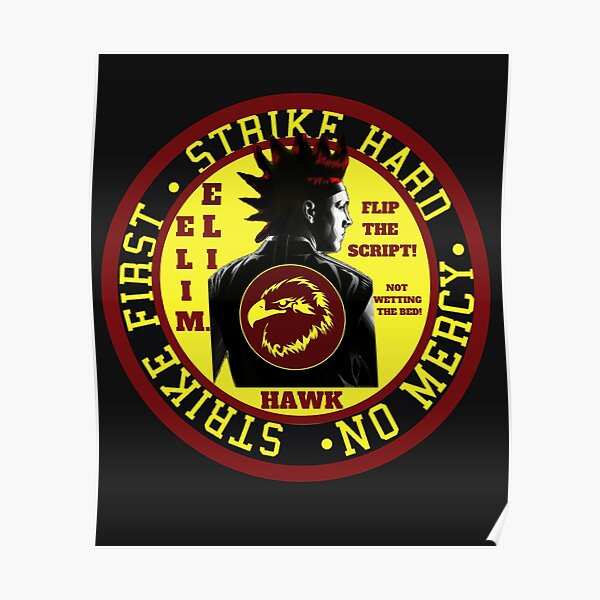 Hawk - Cobra Kai Poster RB1006 product Offical Karl Jacobs Merch