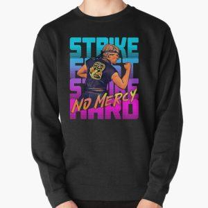 cobra kai 2020 - strike first strike hard no mercy Pullover Sweatshirt RB1006 product Offical Karl Jacobs Merch