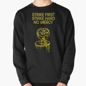 cobra kai logo strike first Pullover Sweatshirt RB1006 product Offical Karl Jacobs Merch
