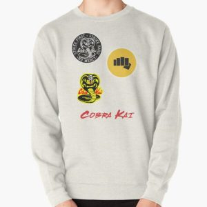 Cobra Kai sticker Pack Pullover Sweatshirt RB1006 product Offical Karl Jacobs Merch