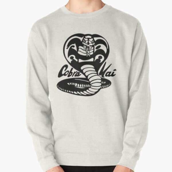 cobra kai black and white Pullover Sweatshirt RB1006 product Offical Karl Jacobs Merch