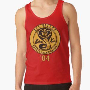 Cobra Kai Vintage Tri-Blend Shirt ,Kobra Kai 84 Karate t-shirt Tank Top RB1006 product Offical Karl Jacobs Merch