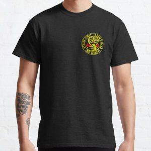Cobra Kai round small logo Classic T-Shirt RB1006 product Offical Karl Jacobs Merch