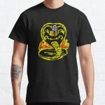 Cobra Kai Distressed Vintage Logo 80s Classic T-Shirt RB1006 product Offical Karl Jacobs Merch