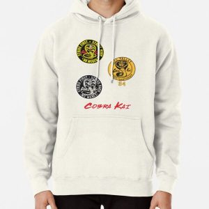 Cobra Kai sticker Pack Pullover Hoodie RB1006 product Offical Karl Jacobs Merch
