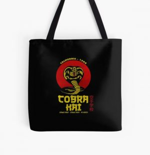 cobra kai california 1984 All Over Print Tote Bag RB1006 product Offical Karl Jacobs Merch
