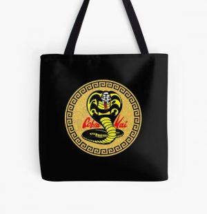 cobra kai logo All Over Print Tote Bag RB1006 product Offical Karl Jacobs Merch
