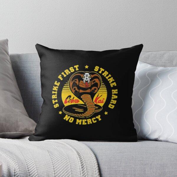 cobra kai logo Throw Pillow RB1006 product Offical Karl Jacobs Merch