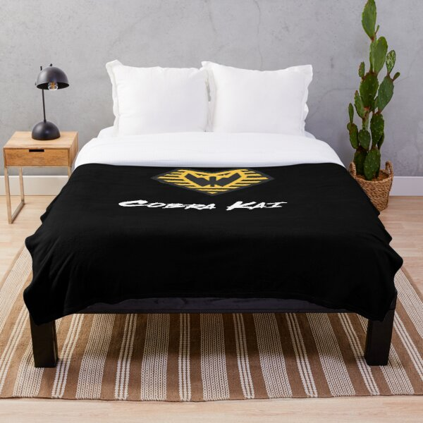 cobra kai vintage logo Throw Blanket RB1006 product Offical Karl Jacobs Merch