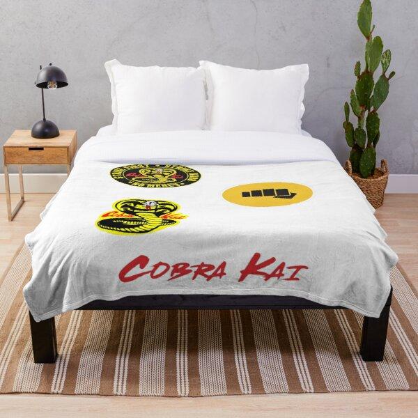 Cobra Kai sticker Pack Throw Blanket RB1006 product Offical Karl Jacobs Merch