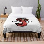 cobra kai red Throw Blanket RB1006 product Offical Karl Jacobs Merch