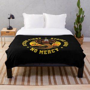 cobra kai logo Throw Blanket RB1006 product Offical Karl Jacobs Merch