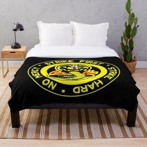 Cobra Kai  Throw Blanket RB1006 product Offical Karl Jacobs Merch