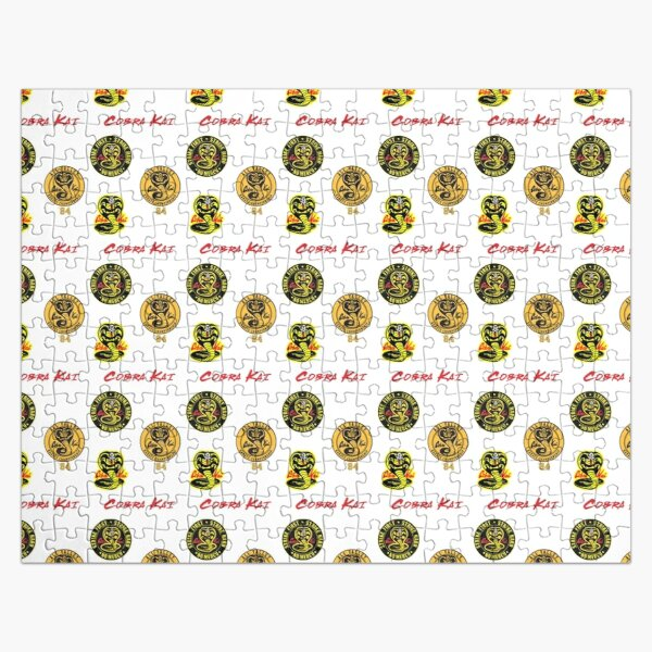 Cobra Kai sticker Pack Jigsaw Puzzle RB1006 product Offical Karl Jacobs Merch