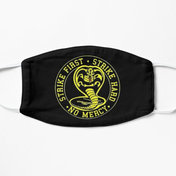 cobra kai Flat Mask RB1006 product Offical Karl Jacobs Merch