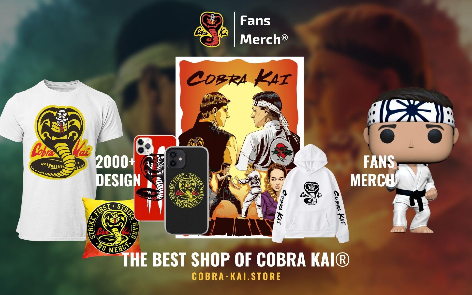 Cobra Kai Merch Web Banner - Cobra Kai Store